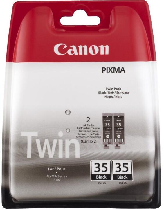 Canon PGI-35Bk 2pack, černá