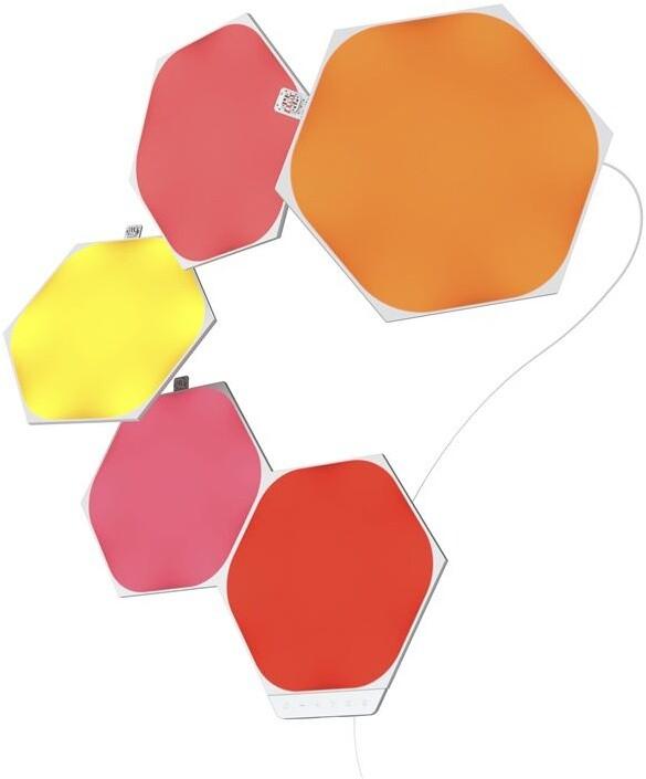 Nanoleaf Shapes Hexagons Starter Kit Mini 5 Panels
