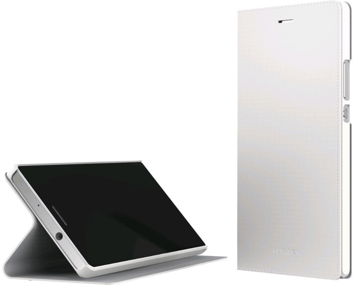 Huawei Folio pouzdro pro P7, bílá