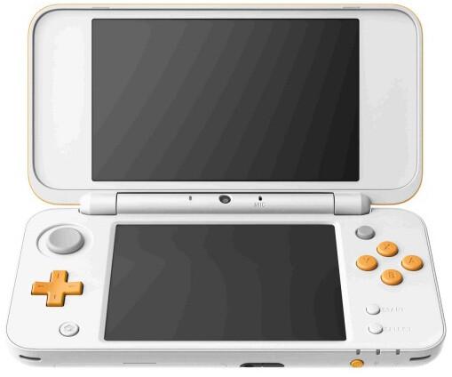 Nintendo New 2DS XL, bílá/oranžová