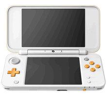 Nintendo New 2DS XL, bílá/oranžová NI3H97212