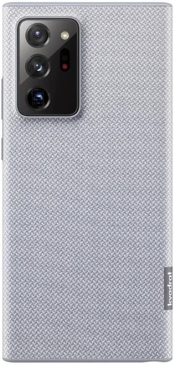Samsung ochranný kryt Kvadrant Cover pro Samsung Galaxy Note20 Ultra, šedá
