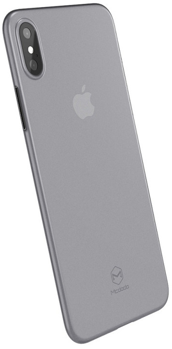 Mcdodo tenký zadní kryt pro Apple iPhone X/XS, čirá