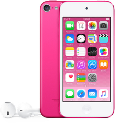Apple iPod touch - 64GB, růžová, 6th gen.