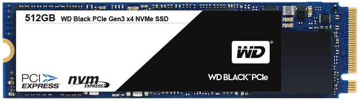 WD Black, M.2 2280 - 512GB