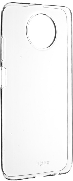 FIXED ultratenké TPU gelové pouzdro Skin pro Xiaomi Redmi Note 9T, 0.6 mm, transparentní