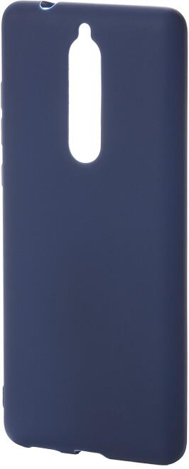 Epico Pružný plastový kryt pro Nokia 5.1 SILK MATT, modrý