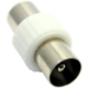 PremiumCord TV antenní spojka IEC 75 Ohm M/M