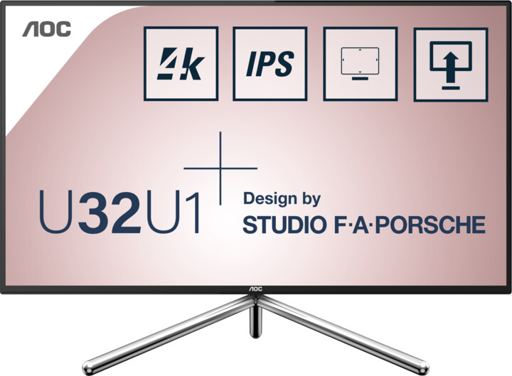 """AOC U32U1 - LED monitor 31,5"""""""