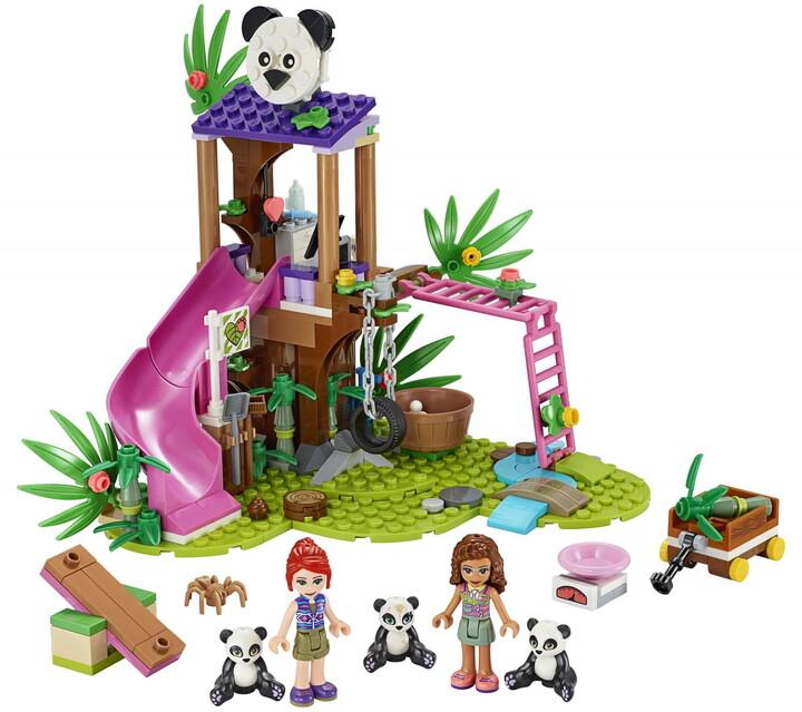 LEGO® Friends 41422 Pandí domek na stromě v džungli