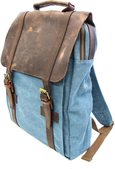 eSuba batoh, kožený