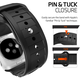 Spigen Rugged Band, black - Apple Watch 42mm