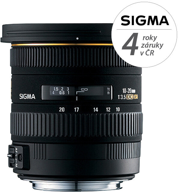 SIGMA 10-20/3.5 EX DC HSM Canon