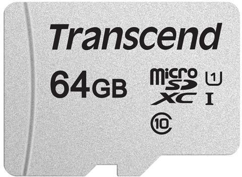 Transcend Micro SDXC 64GB 300S UHS-I U1