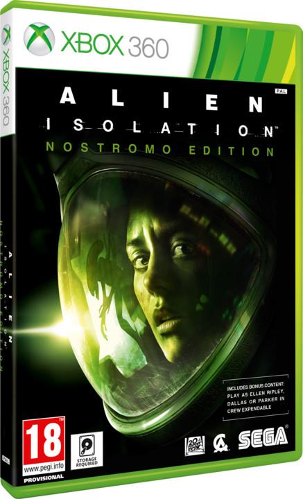 Alien: Isolation - Nostromo Edition - X360