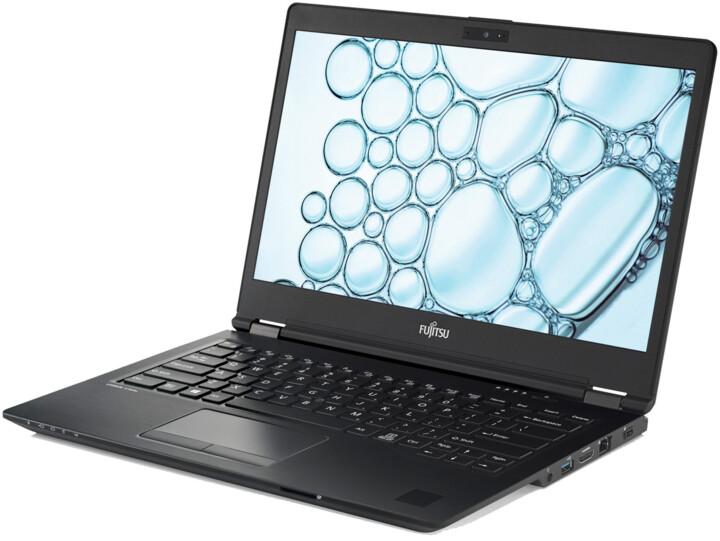 Fujitsu Lifebook U7410 Touch, černá
