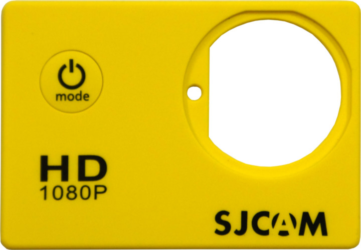 SJCAM ochranný kryt pro SJ4000, žlutý