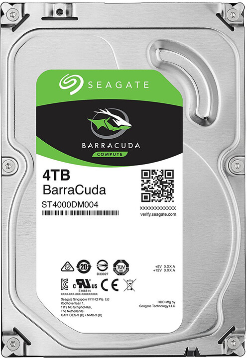 "Seagate BarraCuda, 3,5"" - 4TB"