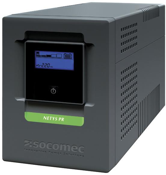 Socomec Netys PR MT 1500, 1050W, USB, LCD