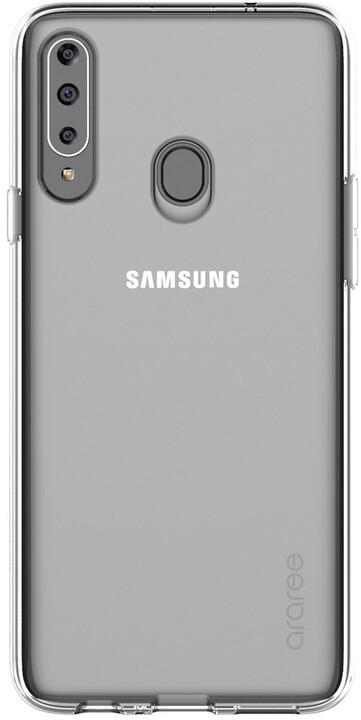 Samsung ochranný kryt A Cover pro Samsung Galaxy A20s, čirá