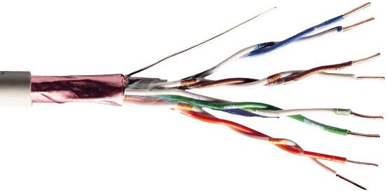 PremiumCord Cat5e TP Kabel 4x2,lanko FTP 5e, 305m