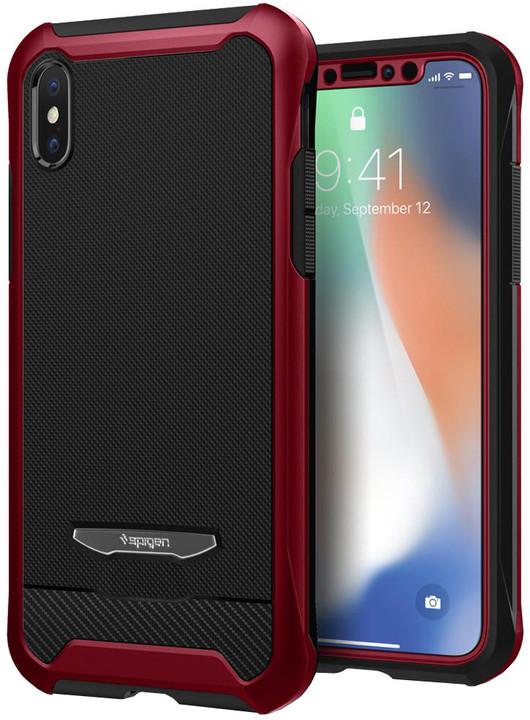Spigen Signature Neo Hybrid zadní kryt pro iPhone X, červený