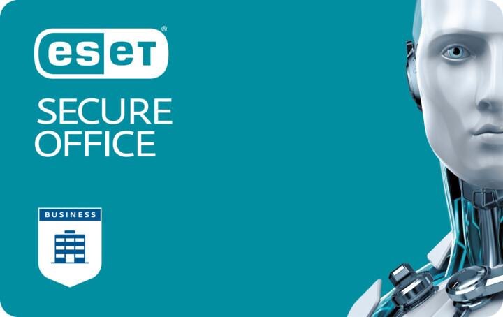 ESET Secure Office pro 1PC na 12 měsíců (5-10), prodloužení