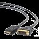 Gembird CABLEXPERT kabel DisplayPort na DVI, M/M, 1,8m