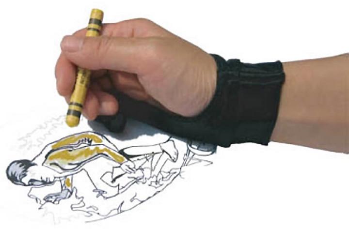 Wacom rukavice SmudgeGuard 1, velikost M, černá