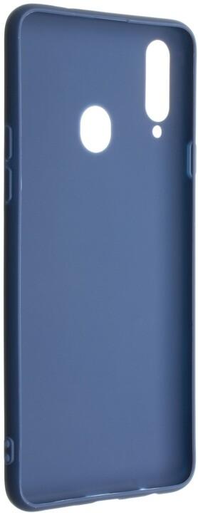 FIXED pogumovaný kryt Story pro Samsung Galaxy A20s, modrá