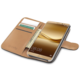 CELLY Wally Pouzdro typu kniha pro Huawei Mate 8, PU kůže, černé