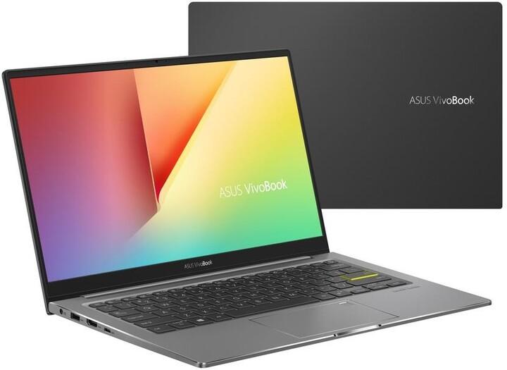 ASUS VivoBook S13 S333JA, černá