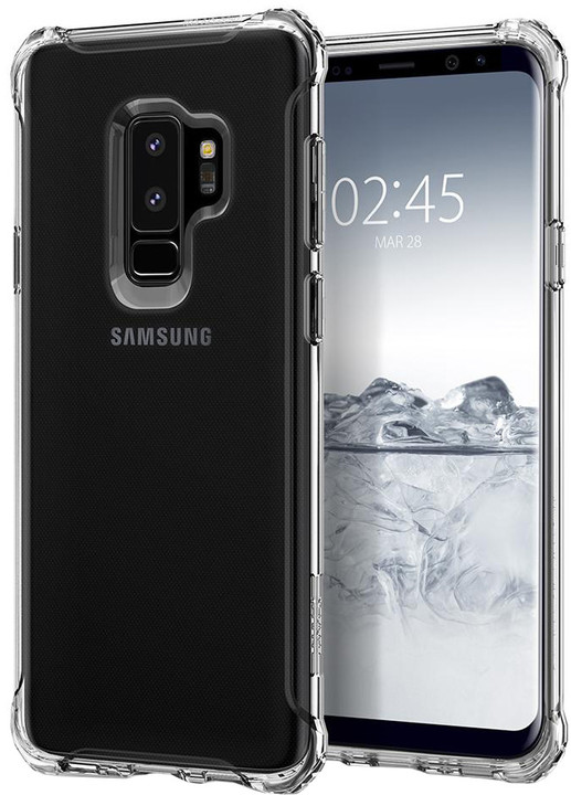 Spigen Rugged Crystal, pro Samsung Galaxy S9+, clear