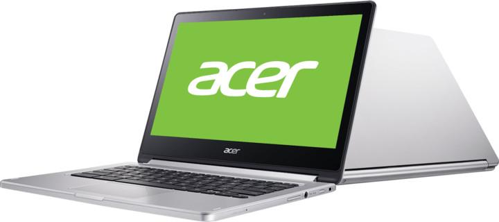 Acer Chromebook R13 (CB5-312T-K1RC), stříbrná