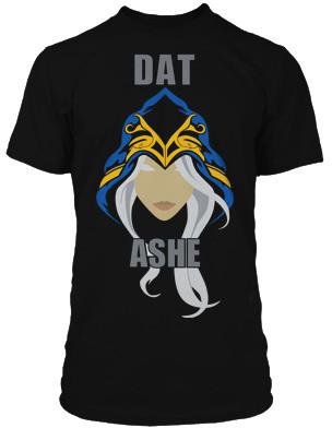 Tričko League of Legends Dat Ashe (US XXL / EU XXXL)
