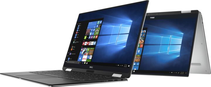 Dell XPS 13 (9365) Touch, stříbrná