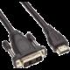 PremiumCord kabel HDMI A - DVI-D M/M 1m