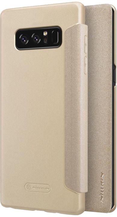 Nillkin Sparkle Folio pouzdro pro Samsung N950 Galaxy Note 8 - zlaté