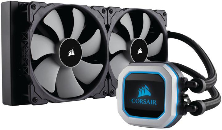 Corsair H115i Pro RGB, vodní chlazení (2x140mm)
