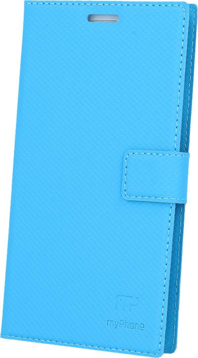 myPhone pouzdro s flipem pro FUN 5, modré