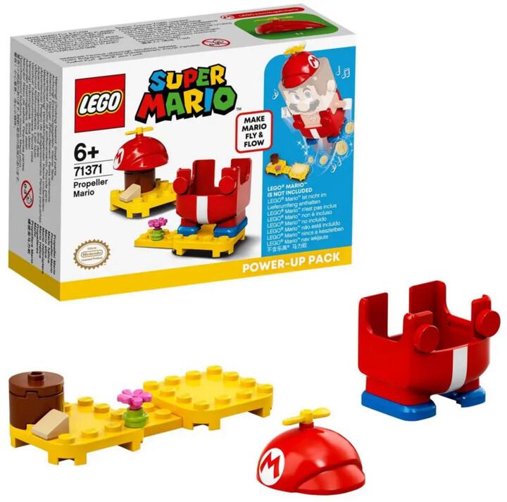 LEGO® Super Mario™ 71371 Obleček s vrtulí – vylepšení pro Maria