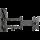 Meliconi 480850 Meliconi Slim Style 100SDR Nástěnný náklonný držák na TV, černá  + Voucher až na 3 měsíce HBO GO jako dárek (max 1 ks na objednávku)