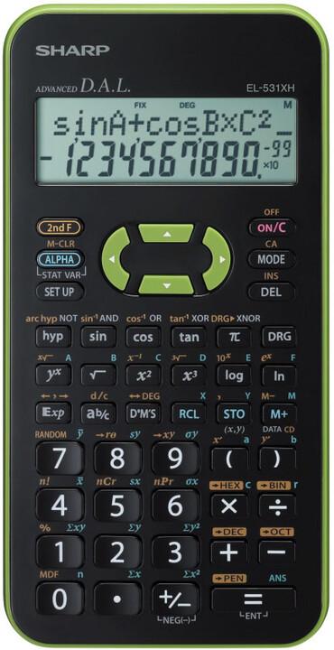 Sharp SH-EL531XHGRC, zelená