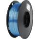 Gembird tisková struna (filament), PLA+, 1,75mm, 1kg, modrá