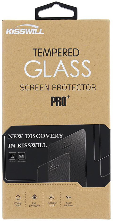 Kisswill Tvrzené sklo 0.3 mm pro Huawei P10 Plus
