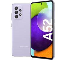 Samsung Galaxy A52, 6GB/128GB, Awesome Violet Antivir Bitdefender Mobile Security for Android 2020, 1 zařízení, 12 měsíců v hodnotě 299 Kč + Elektronické předplatné Blesku, Computeru, Reflexu a Sportu na půl roku v hodnotě 4306 Kč + 500 Kč sleva na příští nákup nad 4 999 Kč (1× na objednávku)