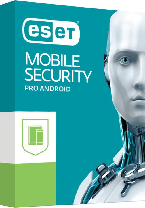 ESET Mobile Security 2 pro 2 zařízení na 2 roky, prodloužení licence