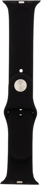 Tactical 466 silikonový řemínek pro iWatch 1/2/3, 42mm, černá