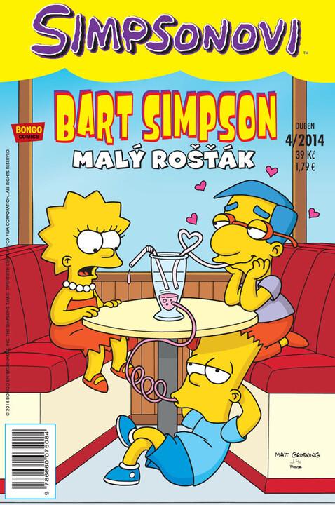 Komiks Bart Simpson: Malý rošťák, 4/2014