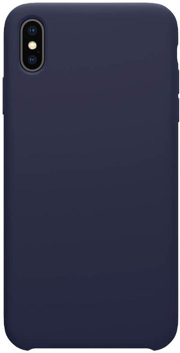Nillkin Flex Pure Liquid silikonové pouzdro pro iPhone XS, modrá